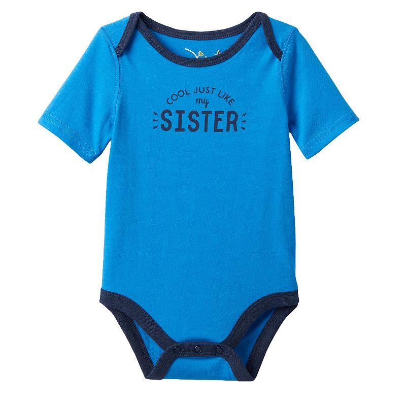 Baby Boy Jumping Beans® Family Slogan Bodysuit