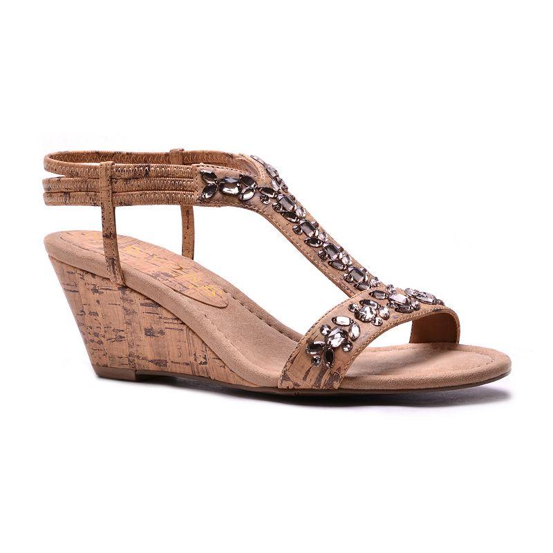 New York Transit Vibrant Women's Wedge Sandals
