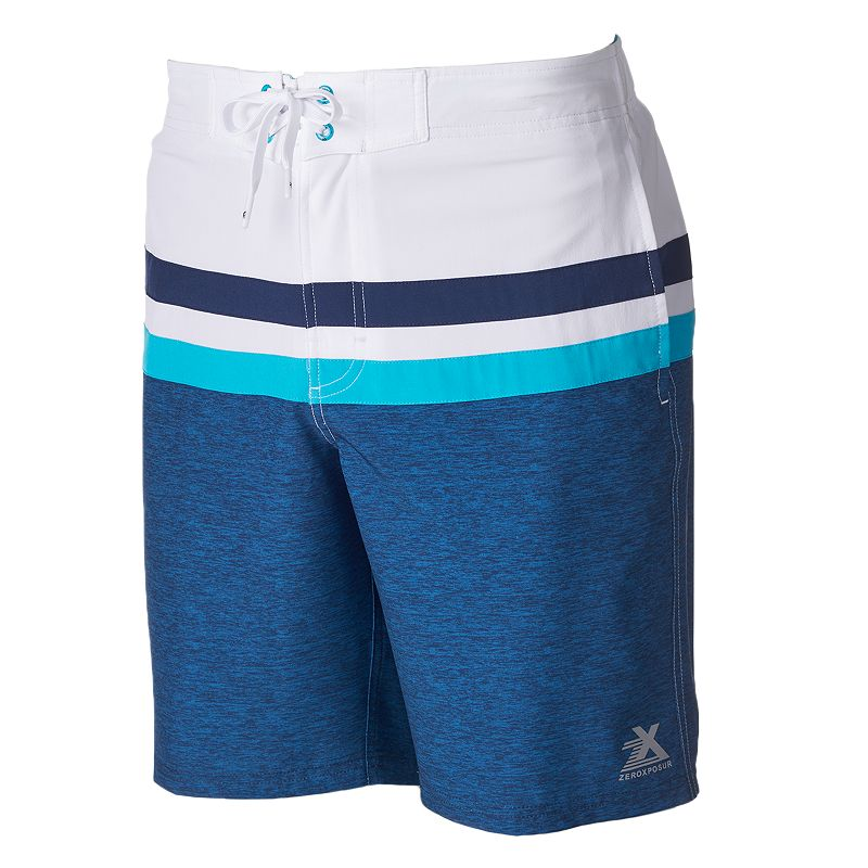 Men's ZeroXposur Ace Colorblock Swim Trunks