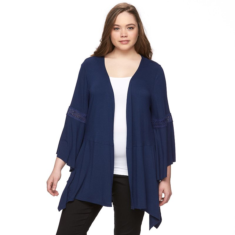Plus Size AB Studio Juliette Sleeve Cardigan