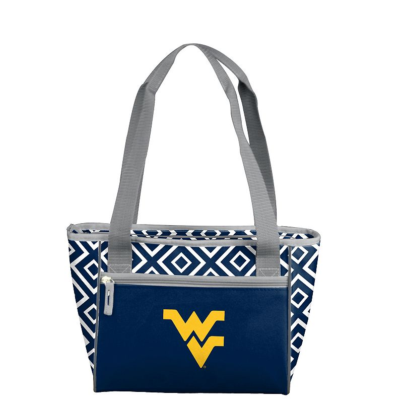 Logo Brand West Virginia Mountaineers 16-Can Diamond Cooler Tote