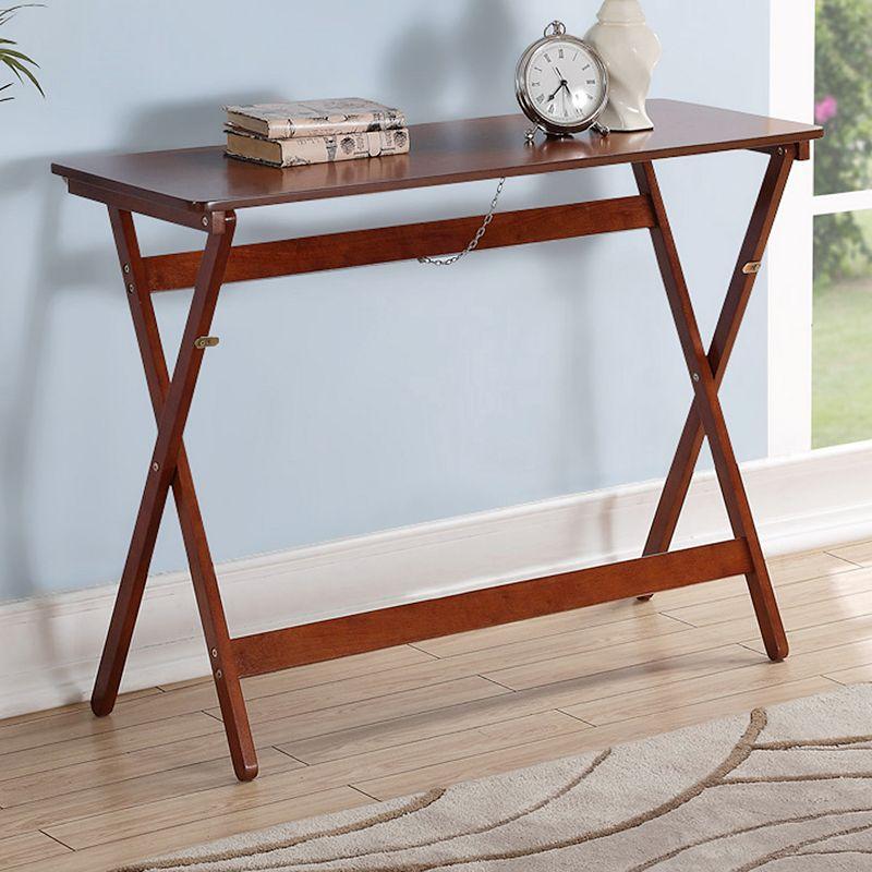 Linon Folding Buffet Tray Table