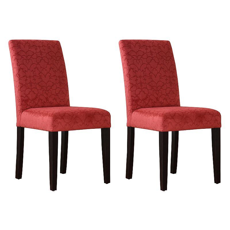 Linon Upton Parsons Chair 2-piece Set