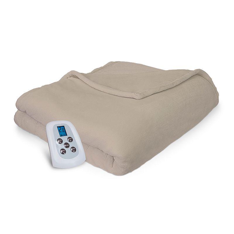 Serta Warming Comfort Plush Electric Heated Blanket