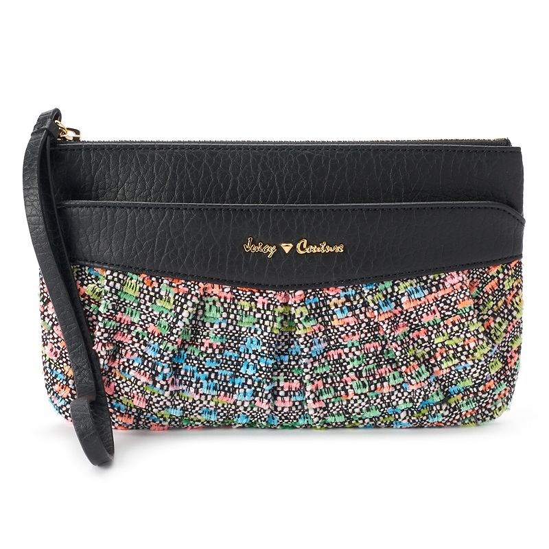 Juicy Couture Tweed Wristlet