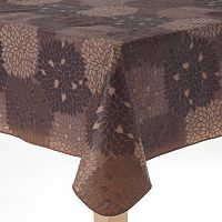 Cuisinart Peva Flannel-Back Tablecloth