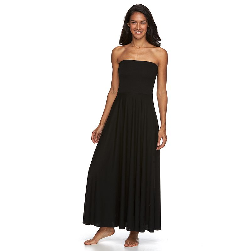 Women's Beach Scene Avalon Convertible Maxi Dress Cover-Up