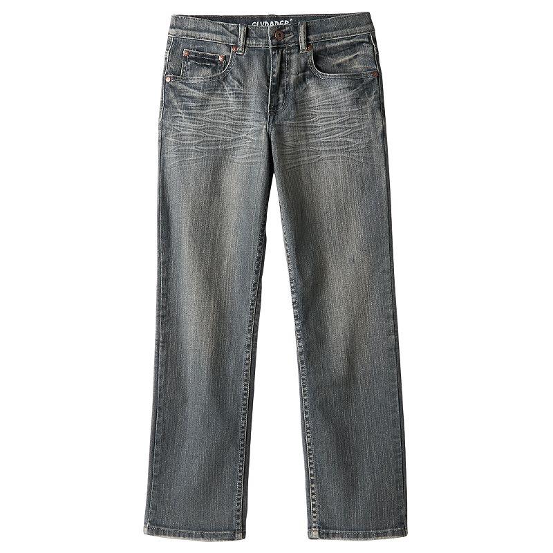 Boys 8-20 Flypaper Stitched Stretch Skinny Jeans, Boy's, Size: 8, Blue