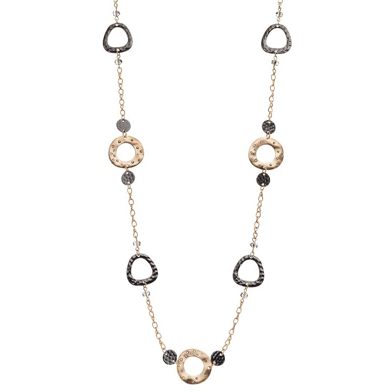 Apt. 9® Long Two Tone Necklace