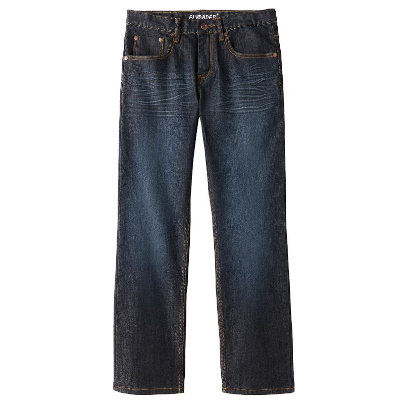 Boys 8-20 Flypaper Embossed Stretch Skinny Jeans, Boy's, Size: 12, Med Grey