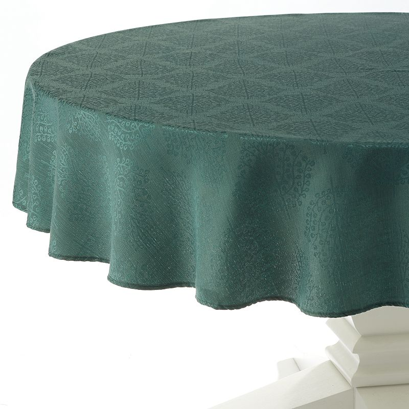 Cuisinart Spice Tree Stain-Resistant Microfiber Tablecloth