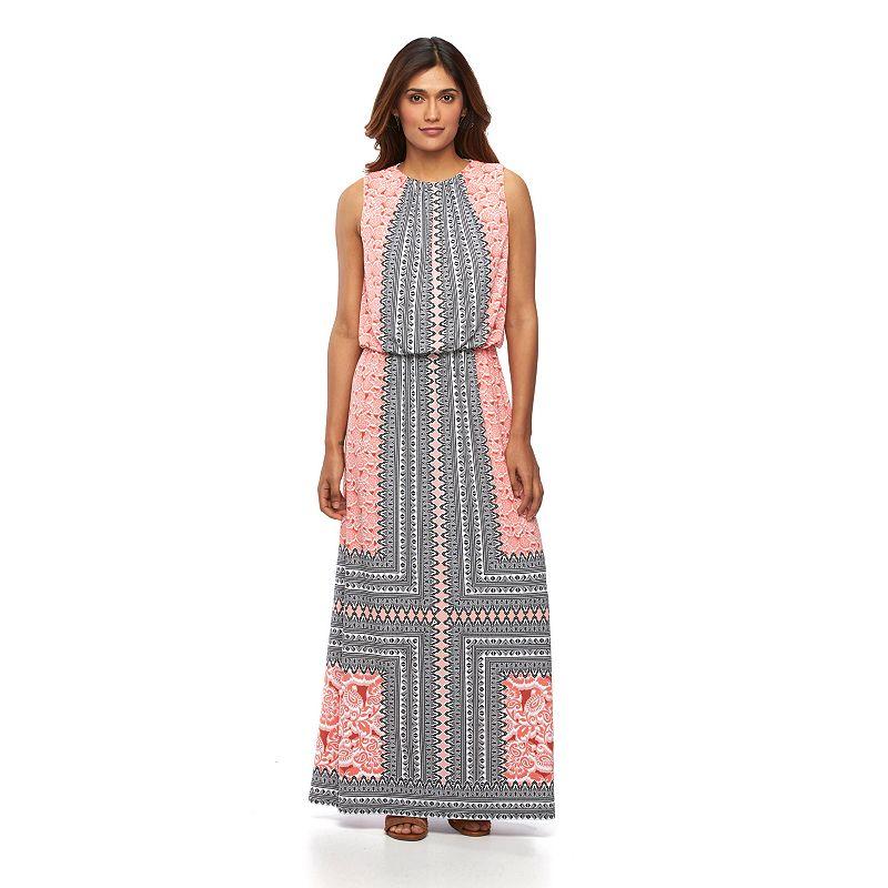 Petite Suite 7 Blouson Maxi Dress