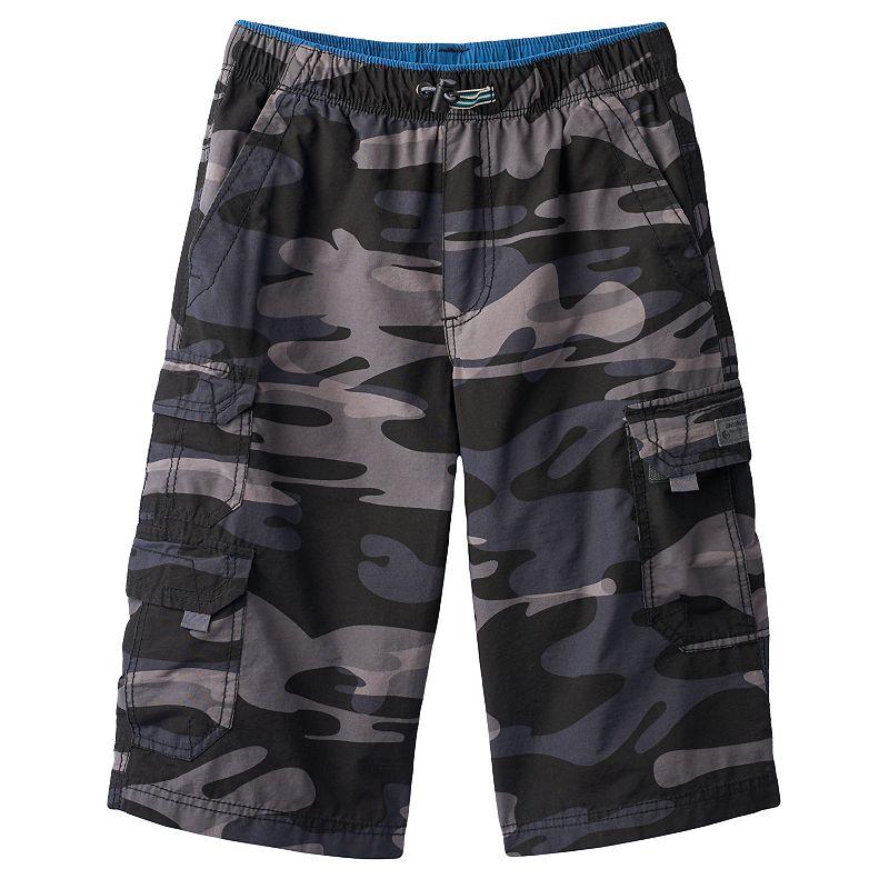 Boys 8-20 Unionbay Ollie Camo Messenger Cargo Shorts