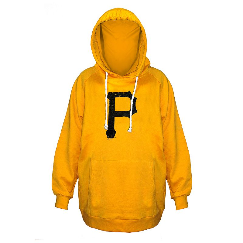Plus Size Majestic Pittsburgh Pirates Gold Hoodie