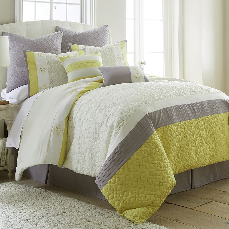Luxe 8-piece Jacquard Bed Set