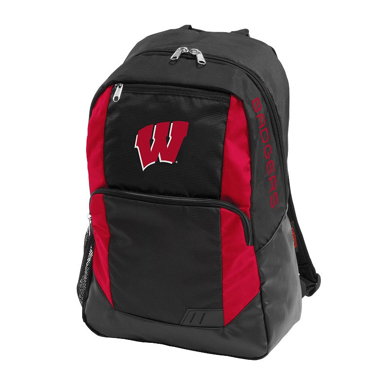 Logo Brand Wisconsin Badgers Closer Backpack