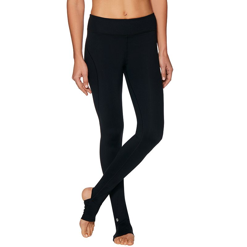 Women's Shape Active Plain S-Seam Barre Stirrup Leggings