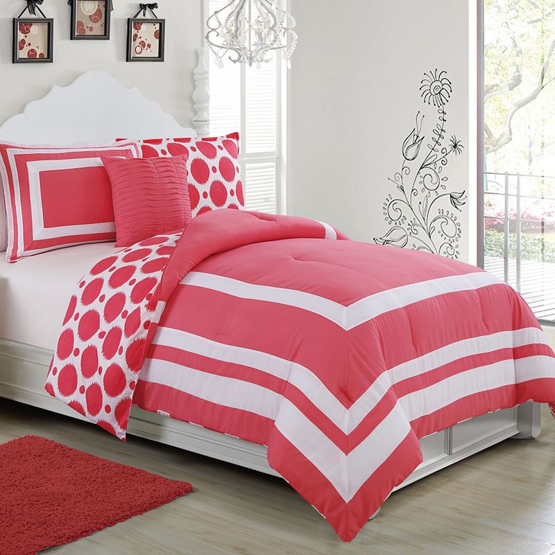 Madeline Reversible 3-piece Comforter Set