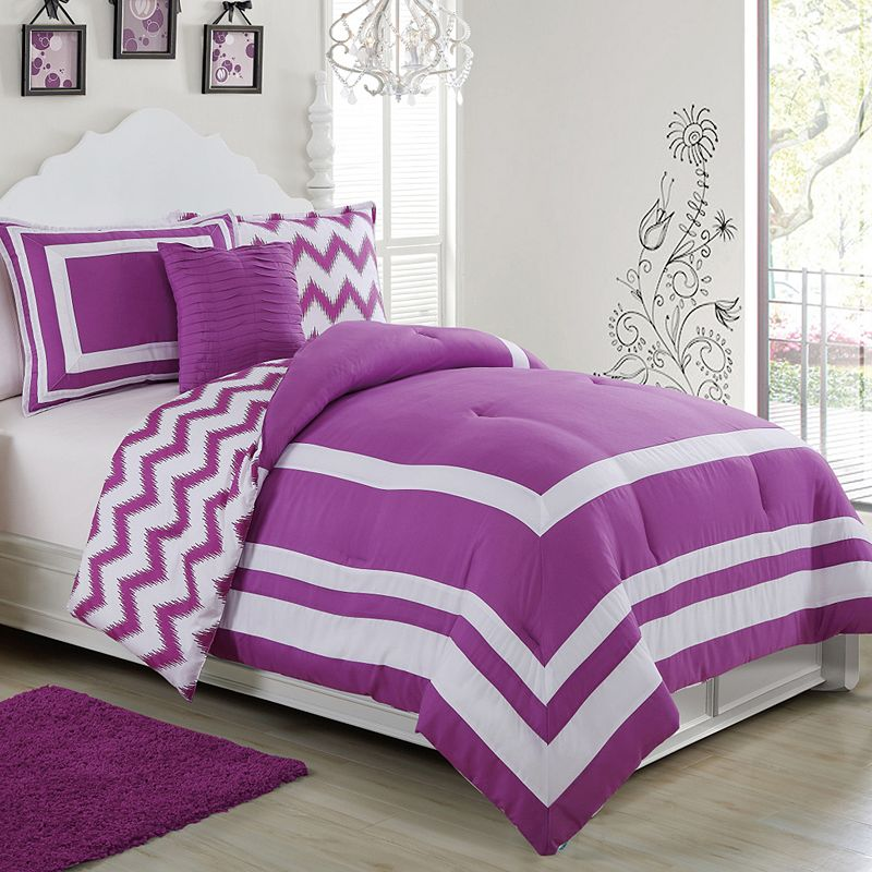 Madeline Reversible 3-piece Comforter Set