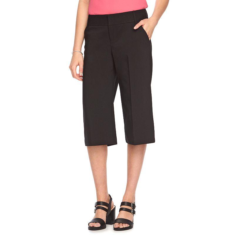 Women's ELLE™ Wide-Leg Capris