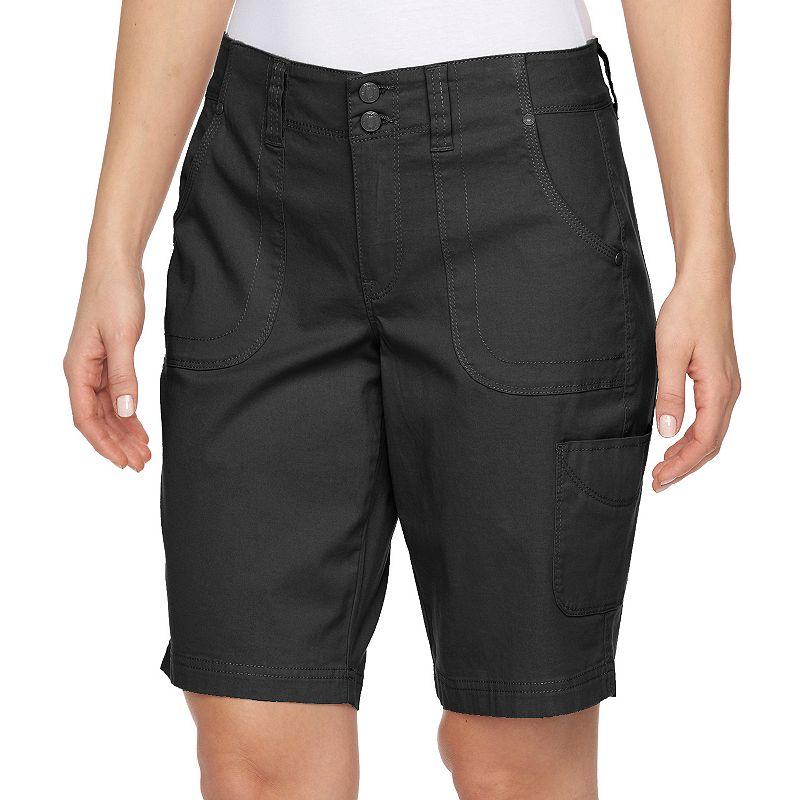 Women's Gloria Vanderbilt Danica Cargo Bermuda Shorts