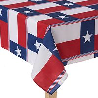Celebrate Local Life Together Texas Flag Tablecloth