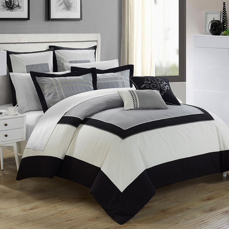 Chic Home Ballroom 7-piece Bed Set