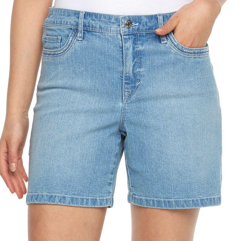 Women's Gloria Vanderbilt Jacqueline Embellished Shorts