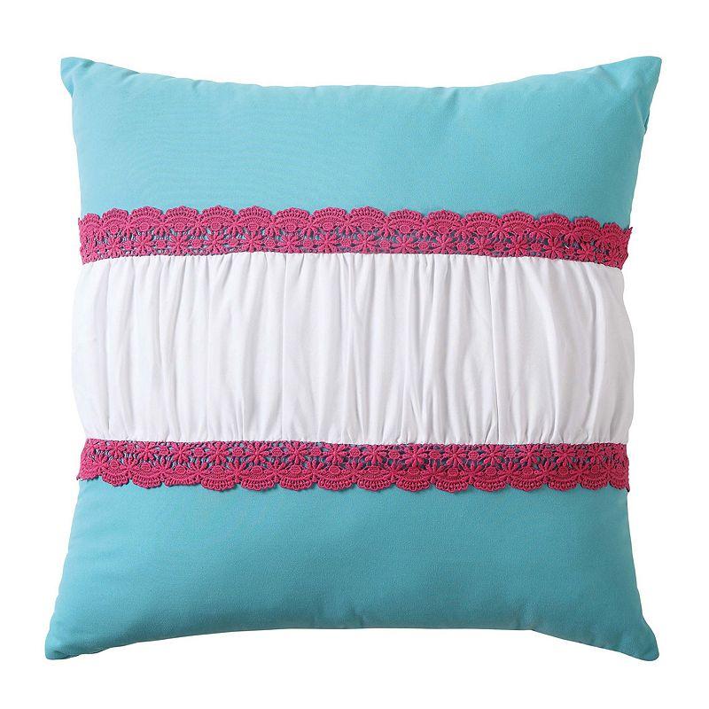 Amanda Crochet Throw Pillow