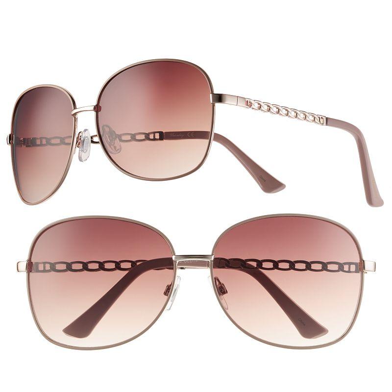 Women's Unionbay Glam Oversized Round Sunglasses