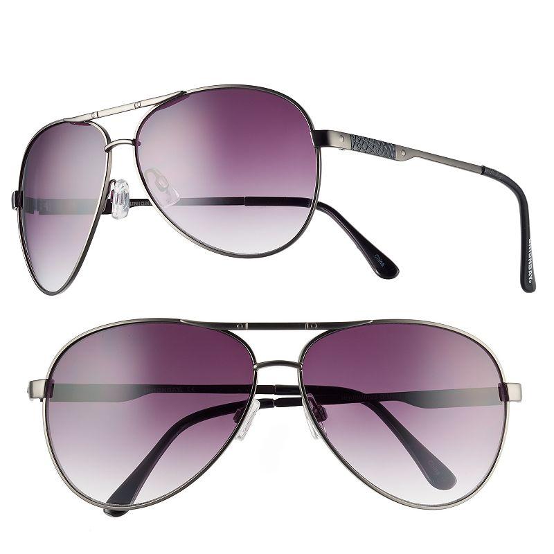 Men's Unionbay Textured Aviator Sunglasses