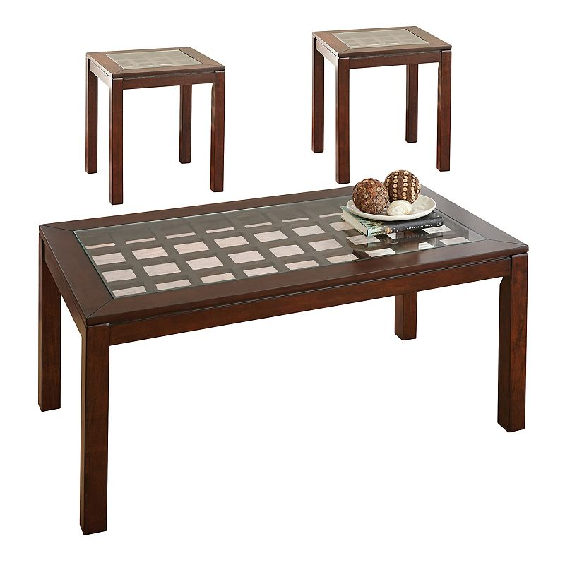 Dixon Occasional Coffee & End Table 3-piece Set