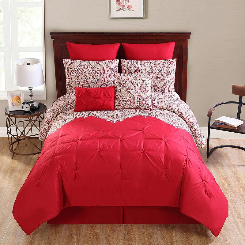 VCNY Elanza 10-piece Bed Set