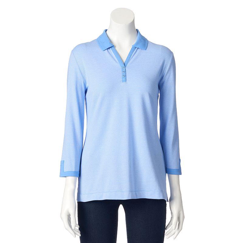 Women's Croft & Barrow® Embellished Polo