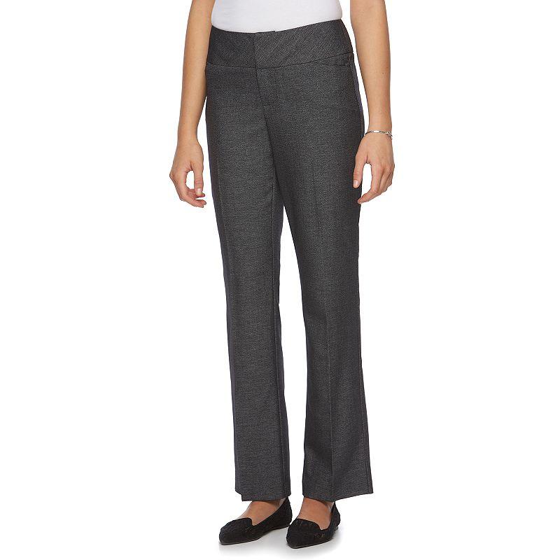 Women's ELLE™ Wide Waistband Dress Pants