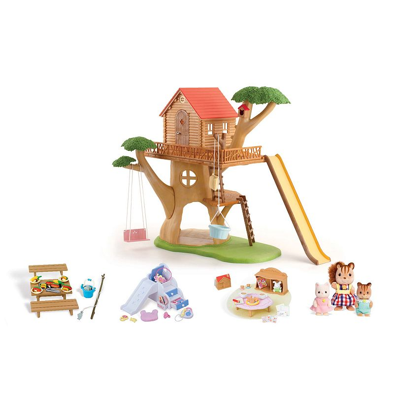 Calico Critters Adventure Tree House Gift Set by International Playthings