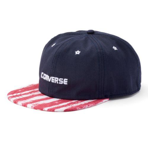 Women's Converse Striped Brim Baseball Hat
