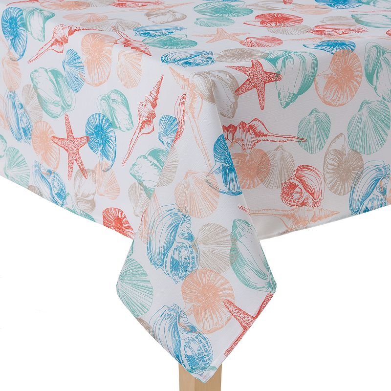 Celebrate Local Life Together Shell Toss Tablecloth