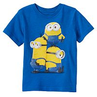 Toddler Boy Minions Blue Tee
