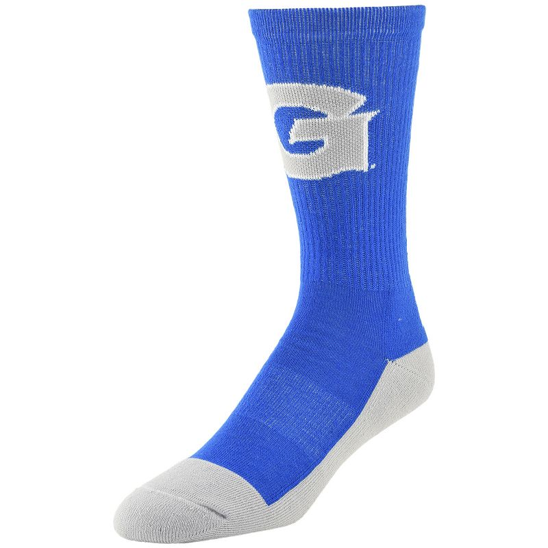 Men's Mojo Georgetown Hoyas Champ 1/2-Cushion Performance Crew Socks