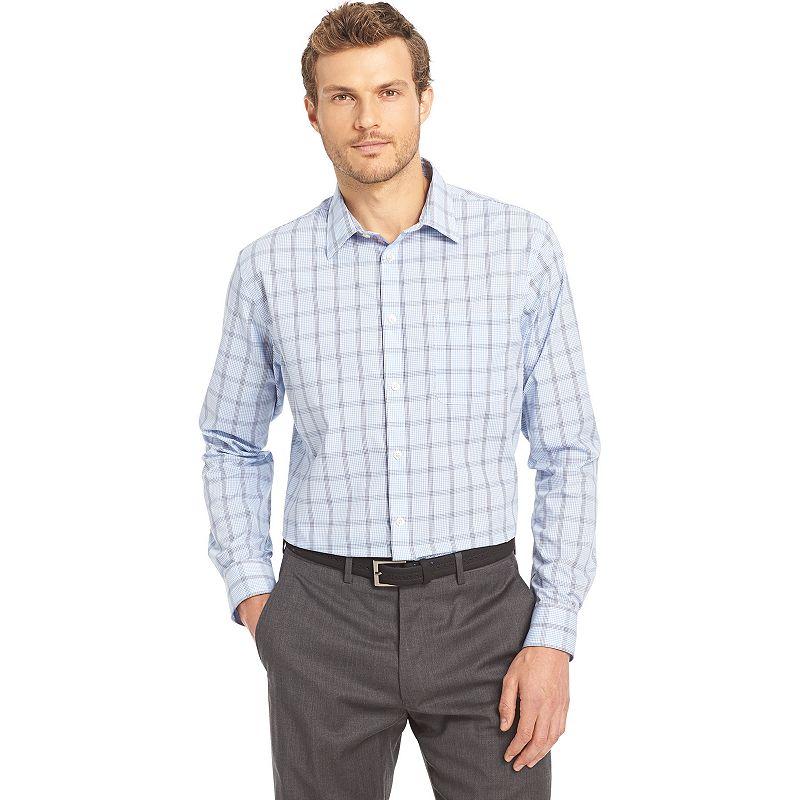Men's Van Heusen Traveler Classic-Fit No-Iron Button-Down Shirt