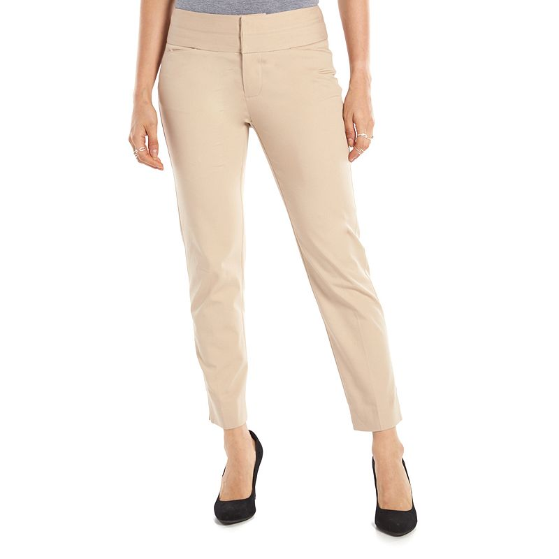 Women's ELLE™ Polished Ankle Pants