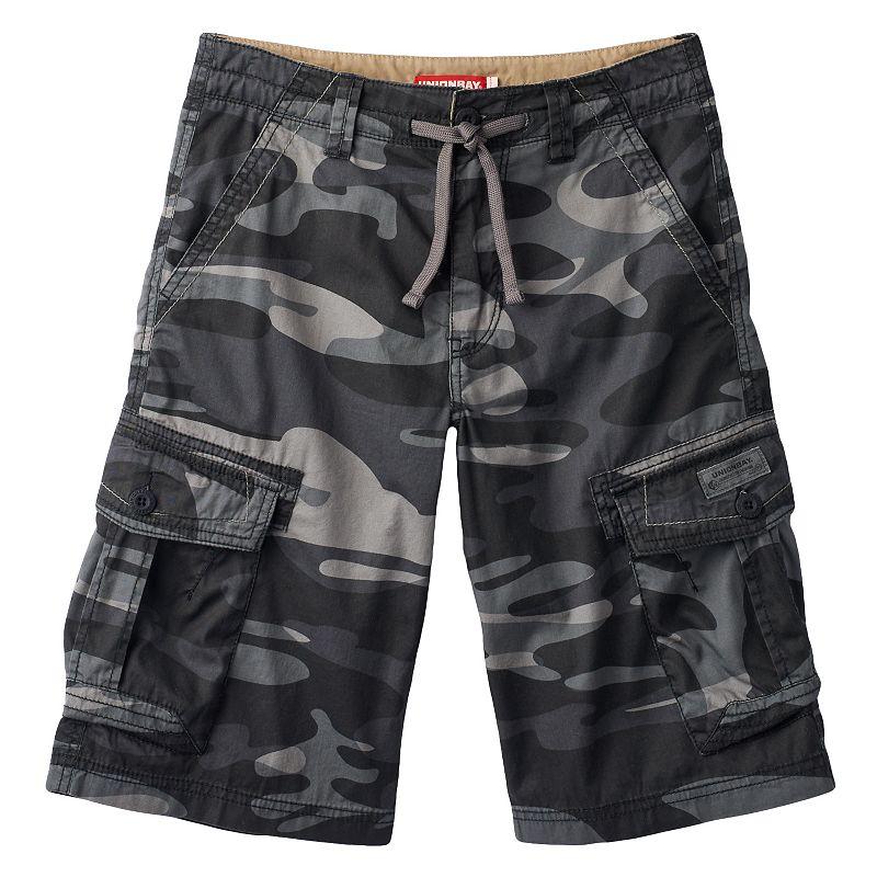 Boys 8-20 Unionbay Shaw Camo Drawcord Cargo Shorts