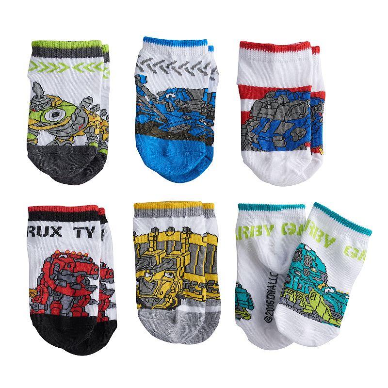Toddler Boy Dinotrux 6-pk. Low-Cut Socks
