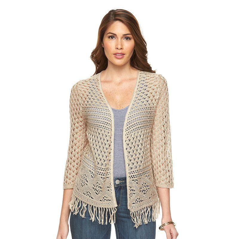 Women's Fashion Ave Crochet Shrug