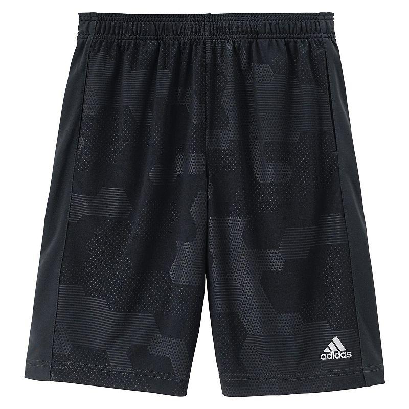 Boys 8-20 adidas Embossed Block Camo Shorts