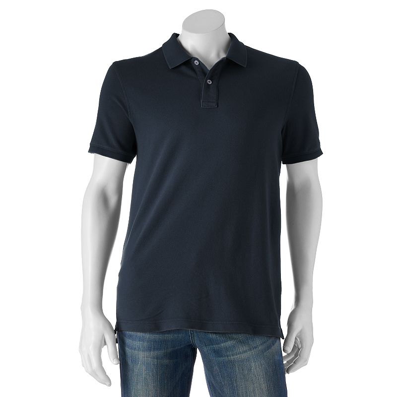 Big & Tall SONOMA Goods for Life™ Core Sun-Washed Pique Polo