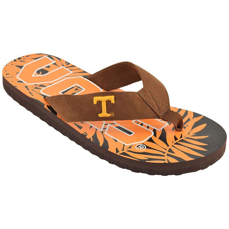Men's Tennessee Volunteers Tropical Flip-Flops