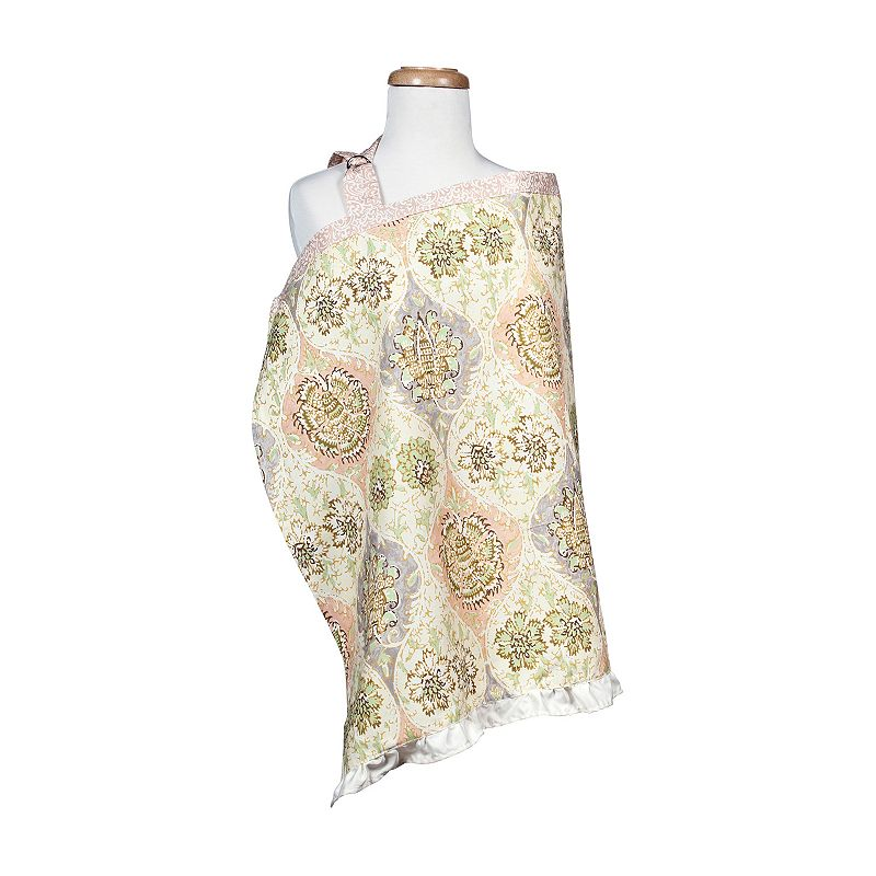 Waverly Baby Rosewater Glam Nursing Cover by Trend Lab