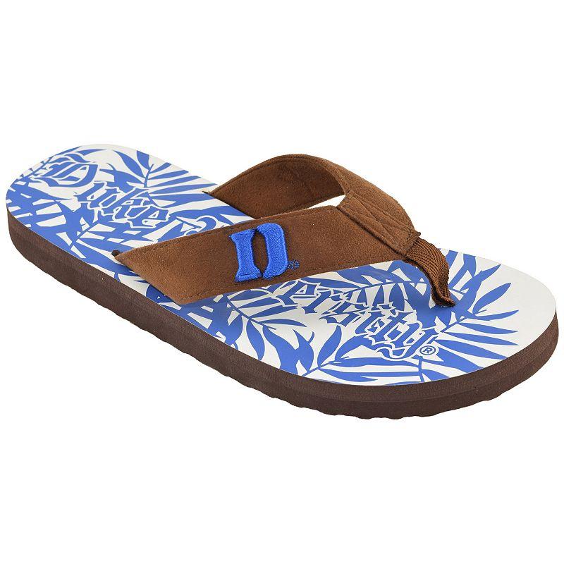 Men's Duke Blue Devils Tropical Flip-Flops